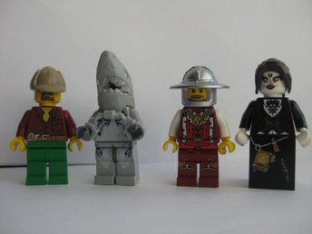 Lego Figurer Figur - 4st Blandade Figurer - LF8-11 - Uddevalla - Lego Figurer Figur - 4st Blandade Figurer - LF8-11 - Uddevalla