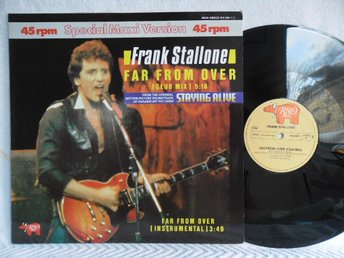 FRANK STALLONE - FAR FROM OVER - RSO 815 348-1