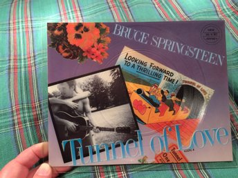 OSPELAD? Bruce SPRINGSTEEN BILDSKIVA Tunnel of love  FRI FRAKT