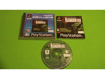 Tom Clancys Rainbow Six KOMPLETT Playstation ps1