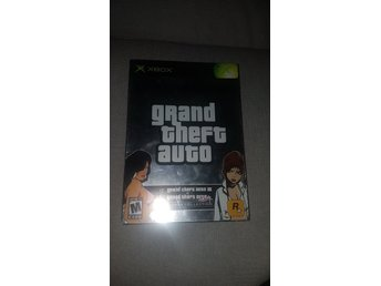 Gta Doublepack Xbox collection Gta 3 & Gta Vice City
