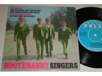 Hootenanny Singers EP/PS Marianne 1966