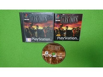 Warhammer Dark Omen KOMPLETT Playstation PSone ps1