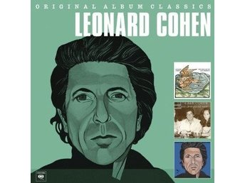 Cohen Leonard: Original album classics 1974-79 (3 CD)