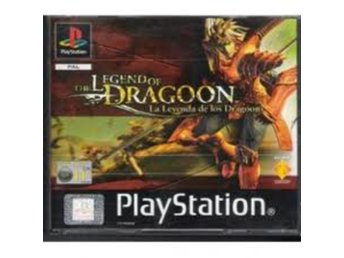 Legend of Dragoon (Endast manual #2 i boxen) - Playstation