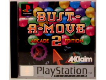 Bust-A-Move 2: Arcade Edition (Platinum) - PS1 - PAL (EU)