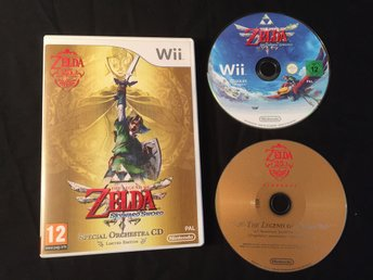 The Legend of Zelda: Skyward Sword (Wii) Spec Ed.