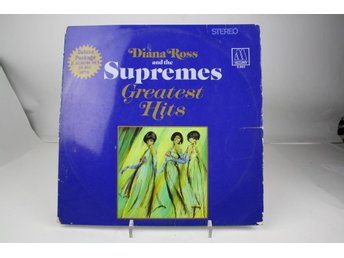 2LP -DIANA ROSS AND THE SUPREMES-GREATEST HITS-1967-