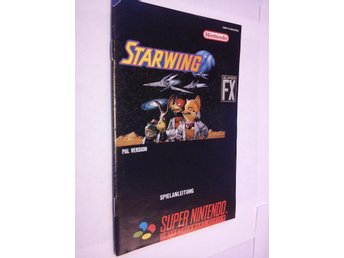 SNES: Manualer: Starwing (Manual - Tysk)