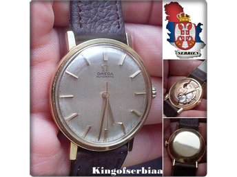 OMEGA 18K GOLD @ Automatic vintage watch circa 1965 !!!