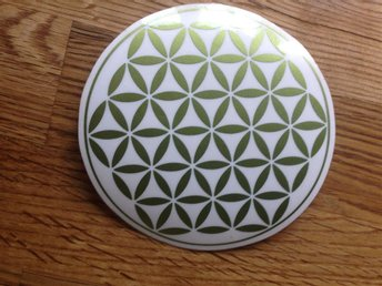 Flower of life klistermärke x 5