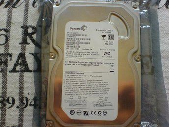 seagate barracuda 80gb 7200rpm  3,5 hårddisk SATA