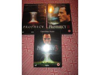 Prophecy 1 , 2 , 3 - Christopher Walken - Timrå - Prophecy 1 , 2 , 3 - Christopher Walken - Timrå
