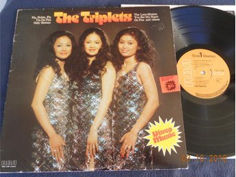 THE TRIPLETS - S/T, Disco LP RCA Sverige 1976