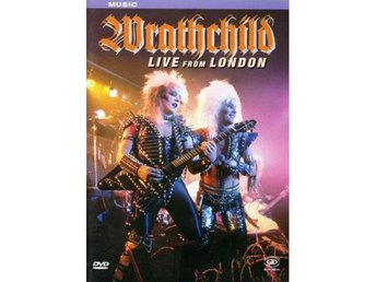 Wratchchild -Live Camden Palace London 1984 dvd glam kings