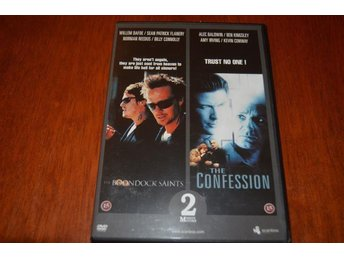 2 DVD FILMER - THE BOONDOCK SAINTS & THE CONFESSION
