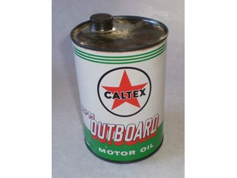 Caltex Outboard Motoroil 0,946 liter