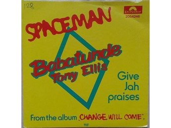 Babatunde Tony Ellis title*  Spaceman* Swe 7""