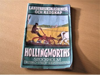 Katalog Hollingworths från 1924