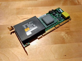 IBM ServeRAID-5i Integrated Ultra 320 SCSI Battery Controller Card
