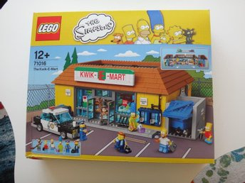 The Simpsons Lego 71016 The Kwik-E-Mart - Se Beskrivning