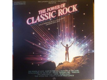London Symphony Orchestra. The Power Of Classic Rock. Vinyl Music LP.