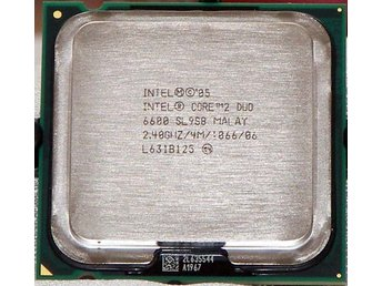 Intel Core 2 Duo 6600 2.40 GHz, 4M Cache, 1066 MHz FSB - Socket LGA775