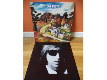 Tom Petty and The Heartbreakers: Into The Great Wide Open 1991 LP. Southern Rock