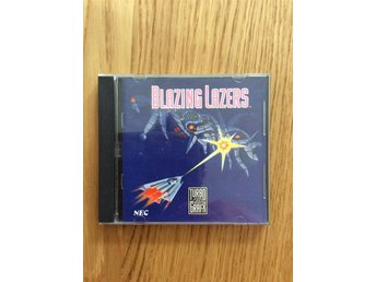 Blazing Lazers turbografx PC engine