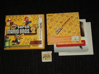 3DS New Super Mario Bros 2 Svenskt!