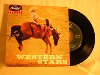 "V. A.    -   ""Western stars""                    EP w. PS"