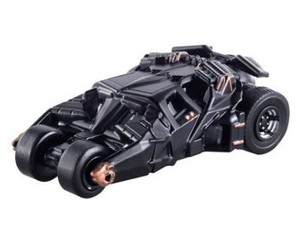 Takara Tomy Bilar Leksaksbil Batman Bil Dark Knight 5  BATMOBILE  Metal 148 NY