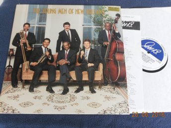 THE YOUNG MEN OF NEW ORLEANS - S/T, GHB Records LP USA 1988