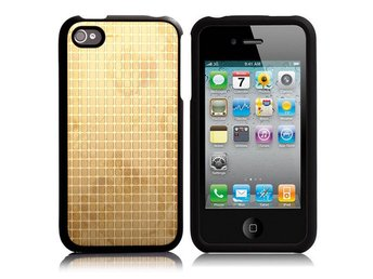 FineChess Metallic - ClickOn (Gyllene) iPhone 4/4S Skal