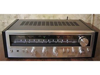 Pioneer SX-590 receiver i kanonskick