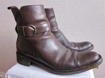 Mods Boots kängor Rizzo läder skinn burgundy brunröda 38 - Göteborg - Mods Boots kängor Rizzo läder skinn burgundy brunröda 38 - Göteborg