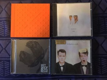 4 X CD med PET SHOP BOYS: Very, Actually, Release & Please
