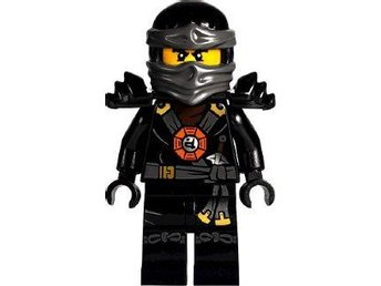 Lego - Figur - Ninjago - Ninja COLE Armor Round Emblem on torso NJO1-14 - Uddevalla - Lego - Figur - Ninjago - Ninja COLE Armor Round Emblem on torso NJO1-14 - Uddevalla