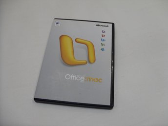 Microsoft Office 2004 Macintosh Standard Engelsk Full Version med nyckel