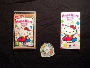hELLO KITTY PUZZLE PARTY PSP PLAYSTATION PORTABLE UBISOFT