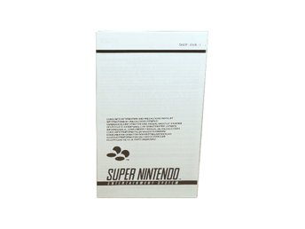SNES Consumer Information and Precautions Booklet (EUR-1)