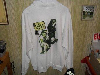 SLUTSÄLJS! - REA ! - 999 - MEDIUM - I´m Alive - Zipper Hoodie - (Punk, 1977,)