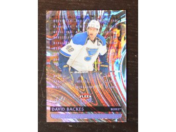 2014-15 fleer ultra violet medallion 1/1 David Backes - Skövde - 2014-15 fleer ultra violet medallion 1/1 David Backes - Skövde