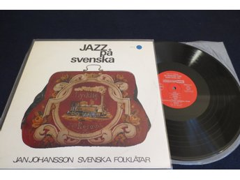 Jan Johansson . Lp Jazz På Svenska  TOP EX