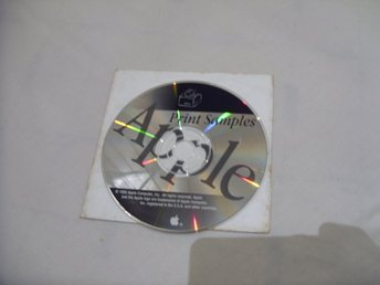 Apple Print Samples 1995 CD ROM