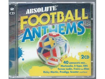 ABSOLUTE FOOTBALL ANTHEMS - 2CD