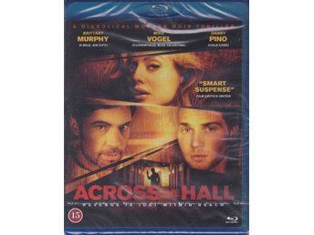 ACROSS THE HALL-BRITTANY MURPHY-MIKE VOGEL-SVENSK TEXT-INPLASTAD BLURAY-DISC.