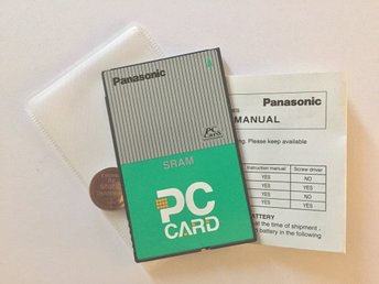PC Card - SRAM Panasonic