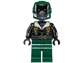 LEGO  Figurer - Superheroes Spiderman VULTURE Mörkgrön 76083