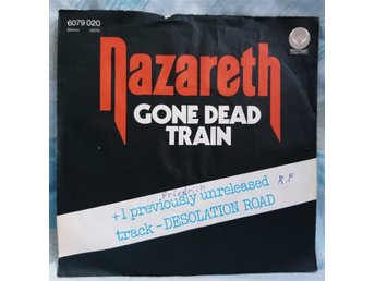 "NAZARETH  ""Gone dead train""   1977     single 7"""